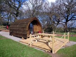 Glamping Sites in Lower Withington