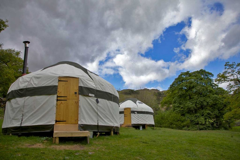 Glamping Sites in The Lake District